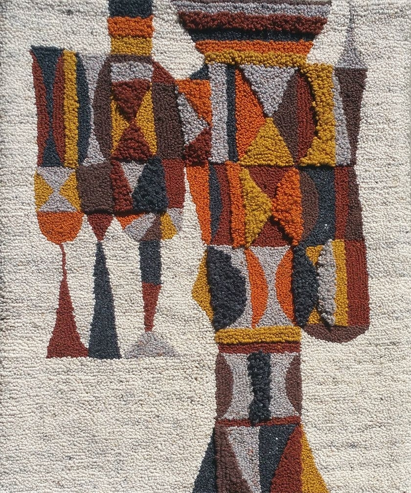 Mid Century Wall Tapestry 1960S | Vintage Universe | Pinterest Throughout Most Recently Released Mid Century Textile Wall Art (View 10 of 15)