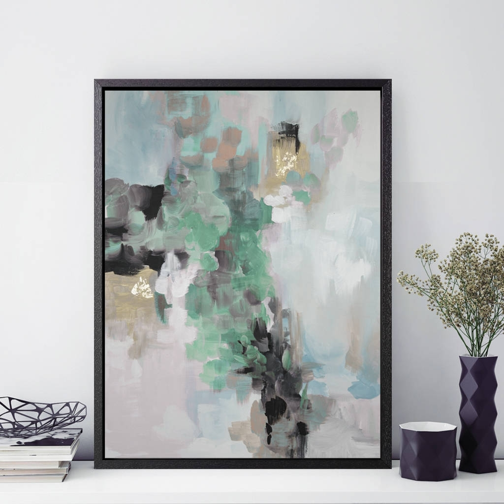 Modern And Abstract Posters And Print Art Gifts Intended For Most Up To Date Abstract Framed Art Prints (Gallery 3 of 15)