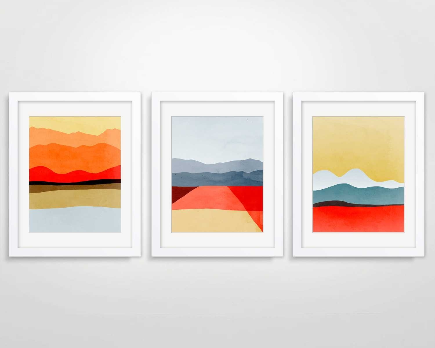 Modern Art Framed Prints – Rpisite In Most Popular Abstract Framed Art Prints (View 5 of 15)