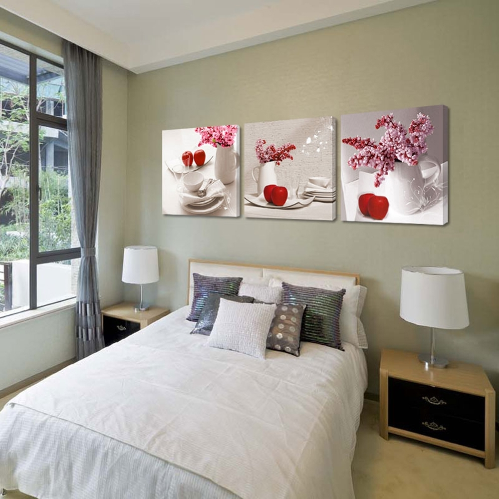 Modern Canvas Wall Art Sets Stretched Canvas Wall Art Sets Floral Throughout Most Popular House Of Fraser Canvas Wall Art (View 12 of 15)