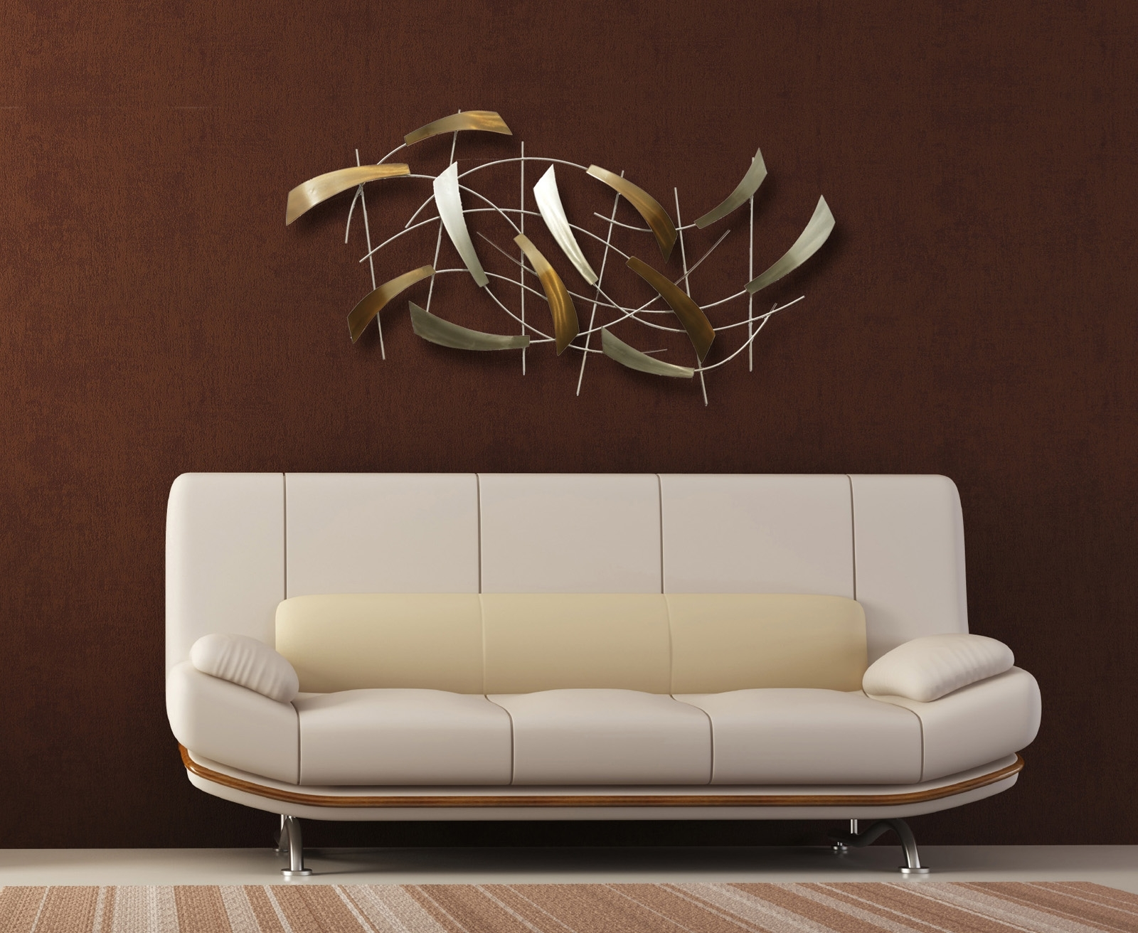 Modern Wall Art And Mirrors | Wall Decor With Most Popular Modern Wall Accents (View 3 of 15)