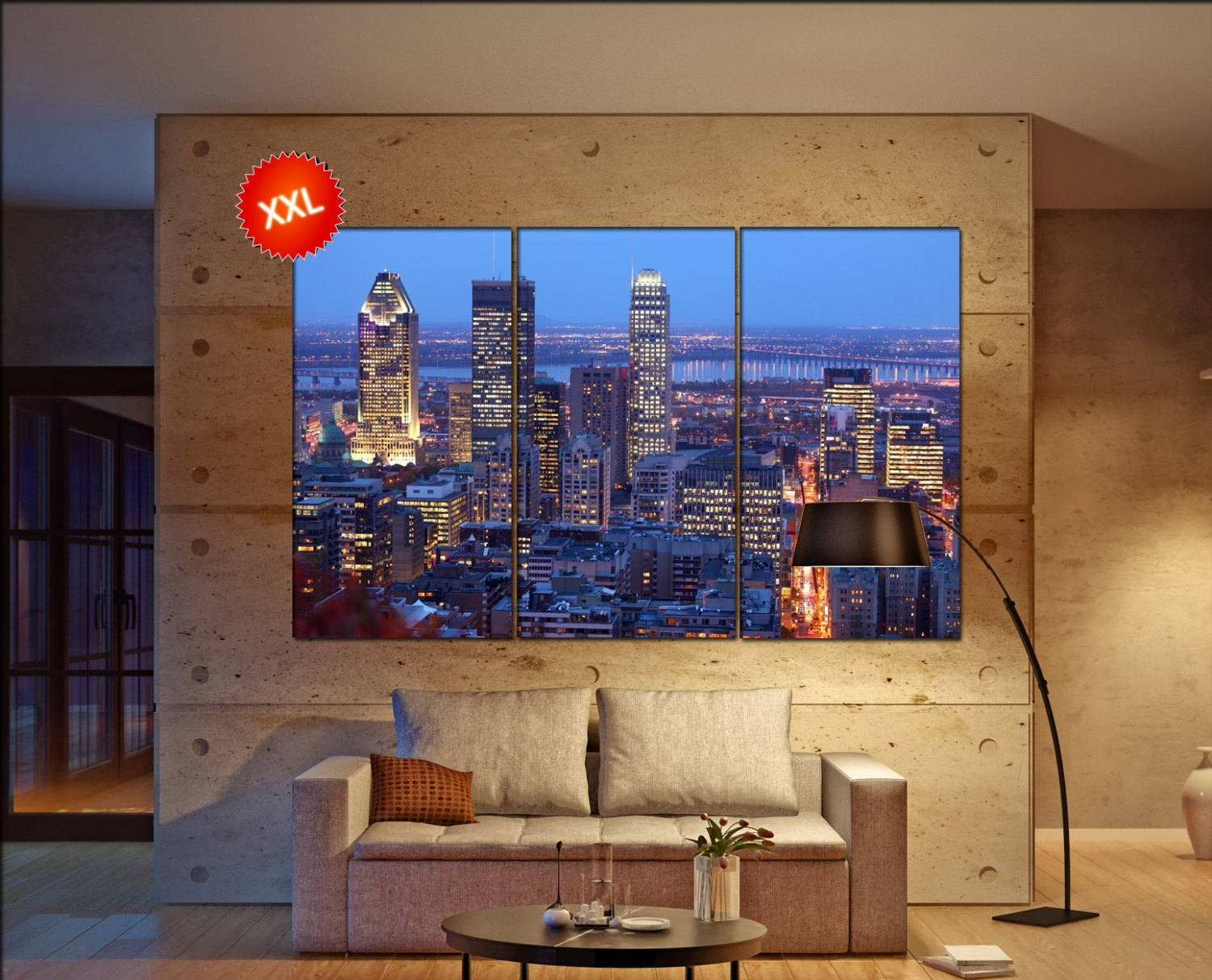 Featured Photo of Montreal Canvas Wall Art