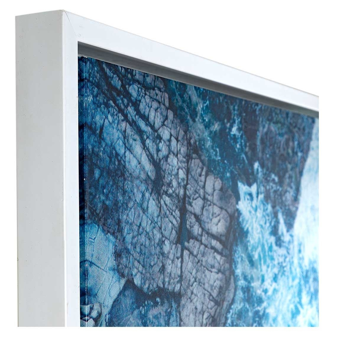 Neeks & Gaston Framed Canvas 120X100Cm Mooloolaba Waves Throughout Most Current Mandurah Canvas Wall Art (View 6 of 15)
