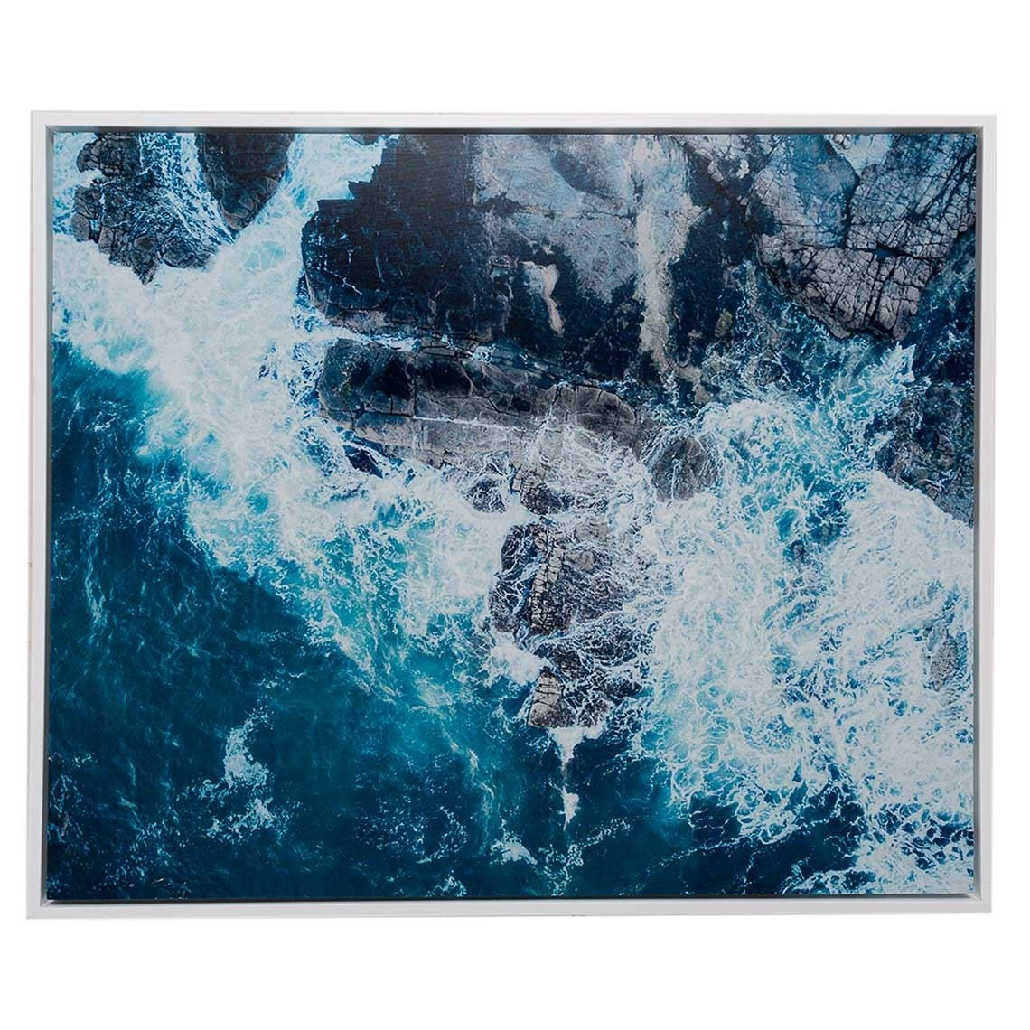 Neeks & Gaston Framed Canvas 120X100Cm Mooloolaba Waves Within Newest Mandurah Canvas Wall Art (View 7 of 15)