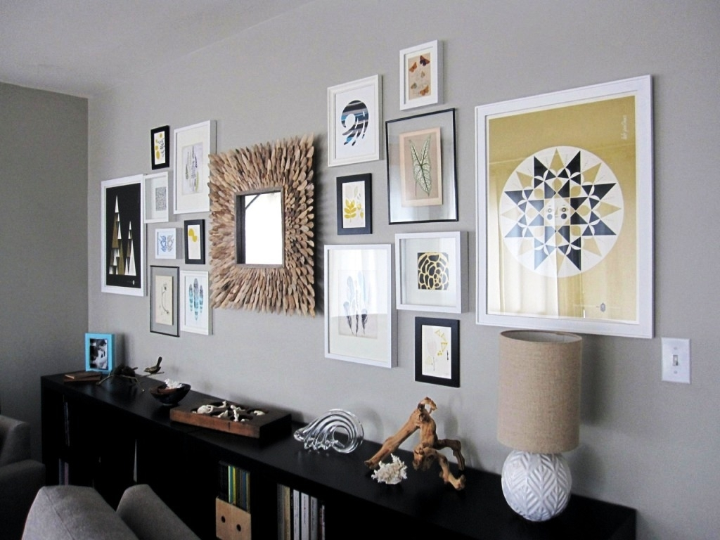 Nice Mirror Sets Wall Decor : Mirror Ideas – Awesome Design Of Intended For Recent Modern Wall Accents (View 2 of 15)
