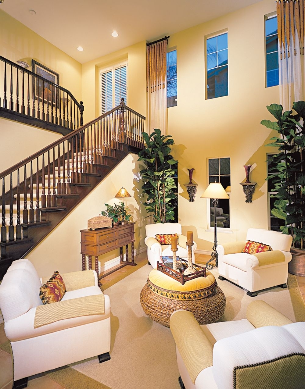 Not A Fan Of Stairs, But I Don't Think I'd Mind Them If The Rest In Recent High Ceiling Wall Accents (View 4 of 15)