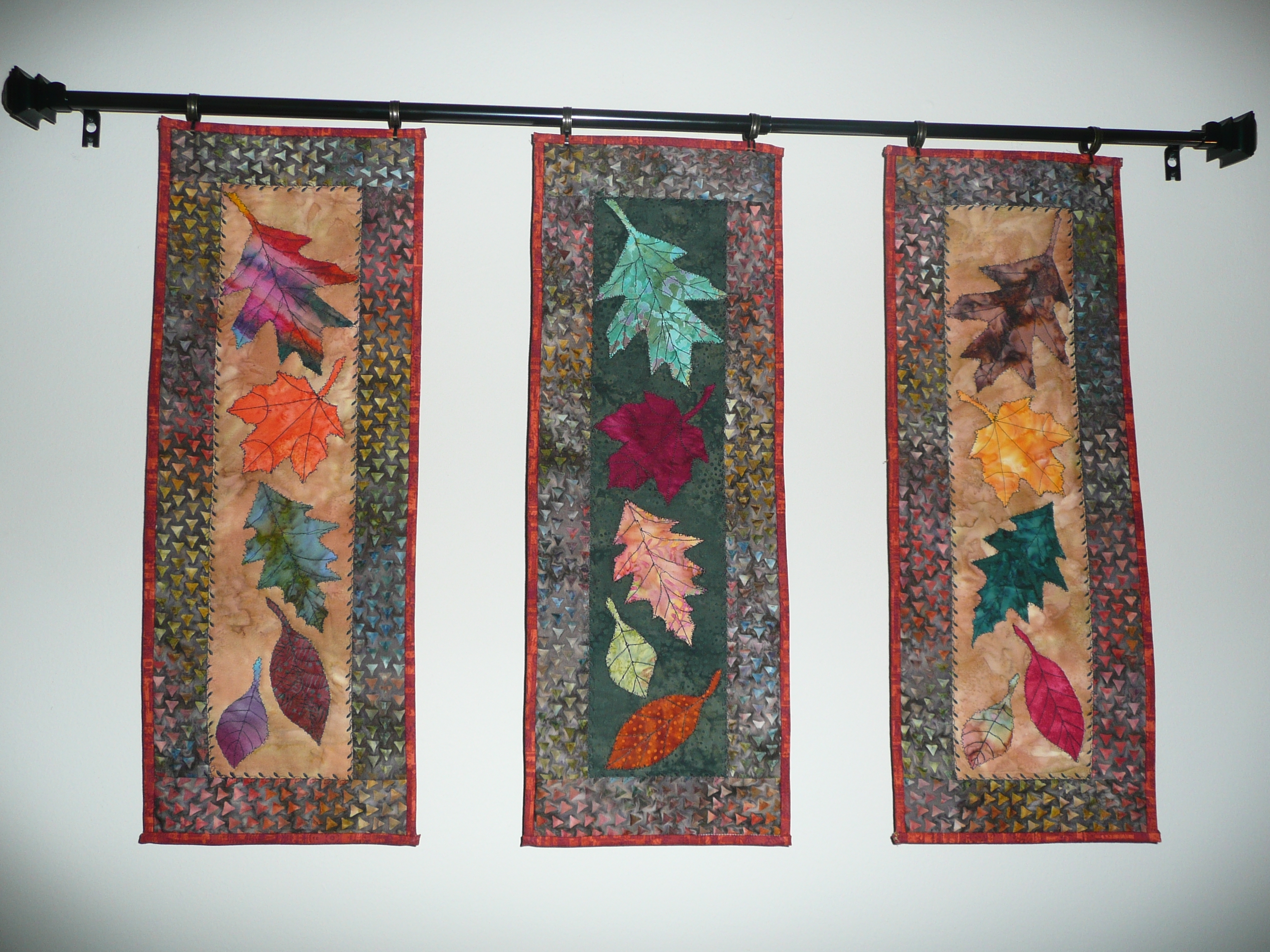 Not Just Your Typical Bed Quilt | Lorna's Voice Regarding Most Recently Released Batik Fabric Wall Art (View 13 of 15)