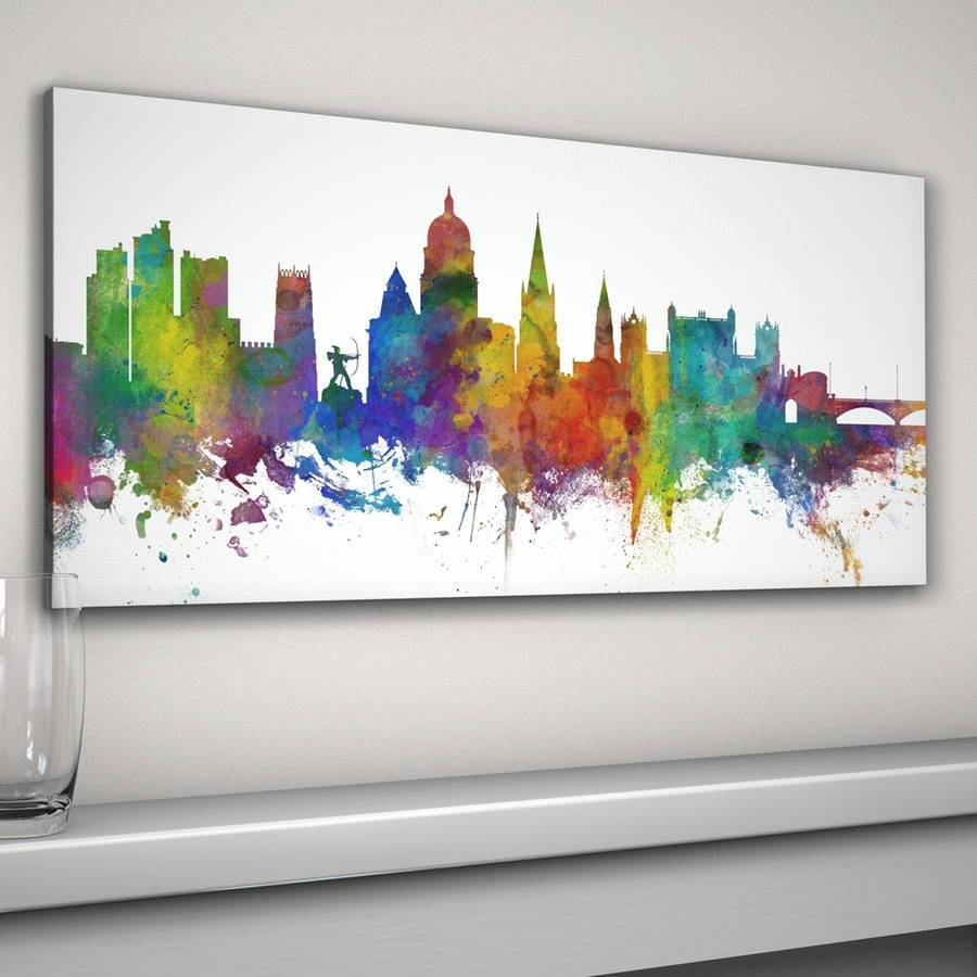 Featured Photo of Nottingham Canvas Wall Art