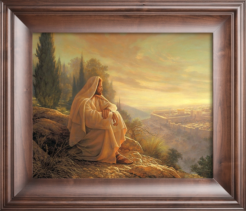 O Jerusalem | Greg Olsen For 2018 Christian Framed Art Prints (View 9 of 15)