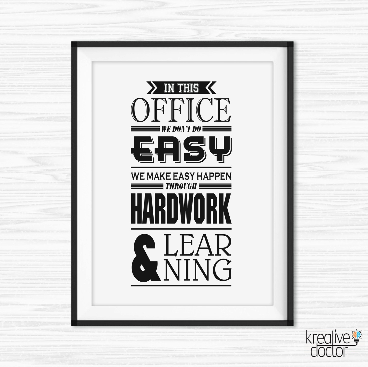 Office Wall Art Motivational Poster Inspirational Canvas Quotes Pertaining To 2017 Inspirational Quotes Canvas Wall Art (View 7 of 15)