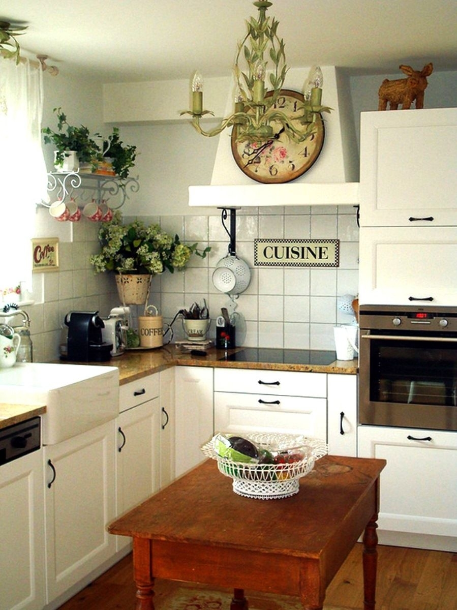 Old Farmhouse Kitchen Decor Old Farm Decor Cheap Rustic Decor Within Current Wall Accents Cabinets (View 8 of 15)