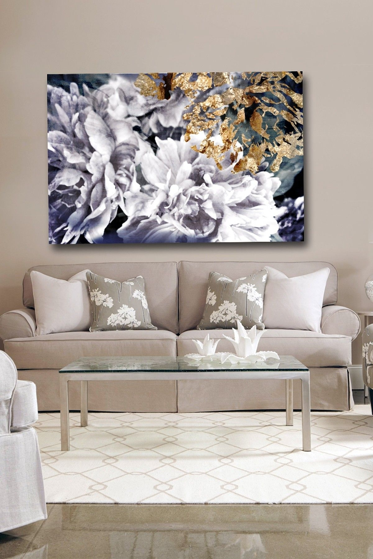 Oliver Gal Dos Gardenias Canvas Wall Art | Hautelook | Home Pertaining To Most Recent Mississauga Canvas Wall Art (View 11 of 15)