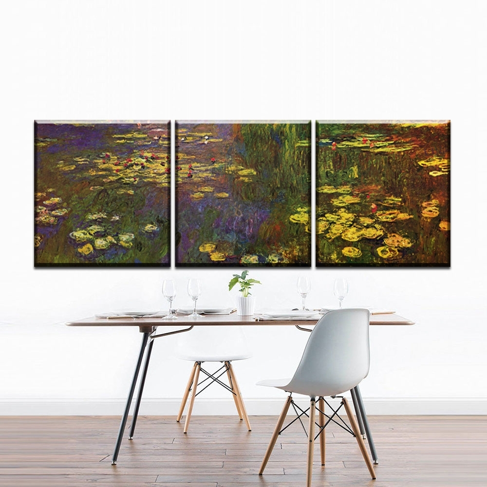 Online Buy Wholesale Monet Canvas Prints From China Monet Canvas In Most Up To Date Monet Canvas Wall Art (View 11 of 15)