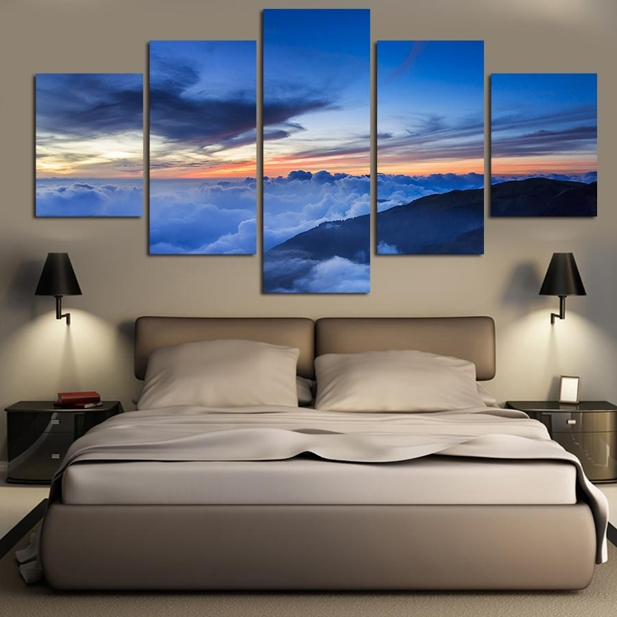 Online Cheap Landscape Oil Paintings On Canvas Wall Art Beautiful Pertaining To 2017 Nature Canvas Wall Art (View 12 of 15)