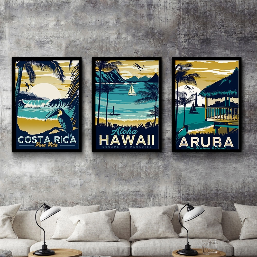 Online Get Cheap Picture Of Hawaii -Aliexpress | Alibaba Group with Current Hawaii Canvas Wall Art