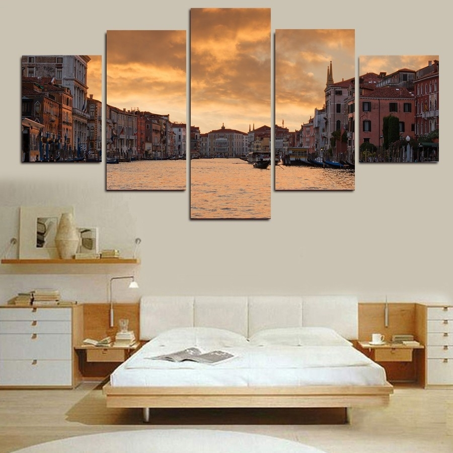 Online Get Cheap Prints Wall Gold  Aliexpress | Alibaba Group Within Current Gold Coast Canvas Wall Art (View 9 of 15)