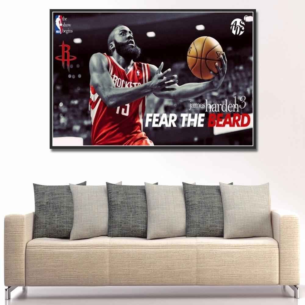 Online Get Cheap Wall Art Houston  Aliexpress | Alibaba Group Inside 2018 Silk Fabric Wall Art (View 10 of 15)