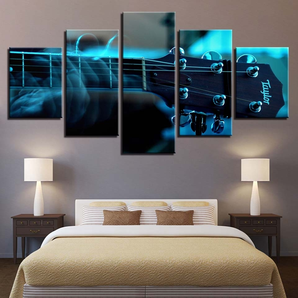 Online Shop Canvas Prints Poster Living Room Wall Art Pictures Inside 2017 Bass Framed Art Prints (View 13 of 15)