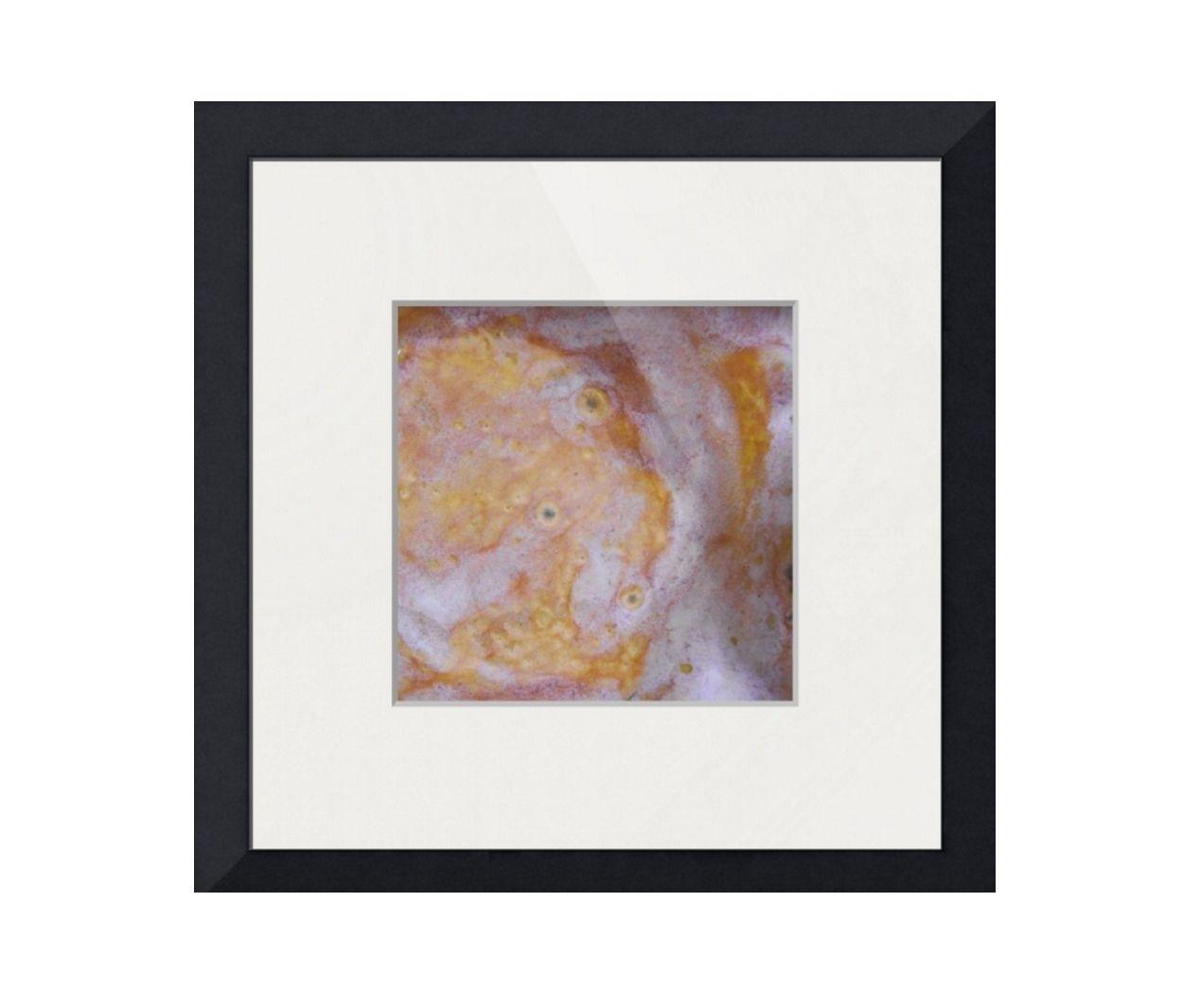 Orange Beige And White Modern Framed Prints | Rustic Artwork inside Current Framed Art Prints