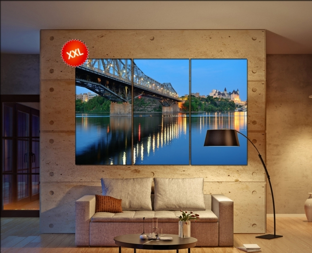 Ottawa Canvas Wall Art Ottawa Wall Decoration Ottawa Canvas With Most Up To Date Jysk Canvas Wall Art (Gallery 12 of 15)