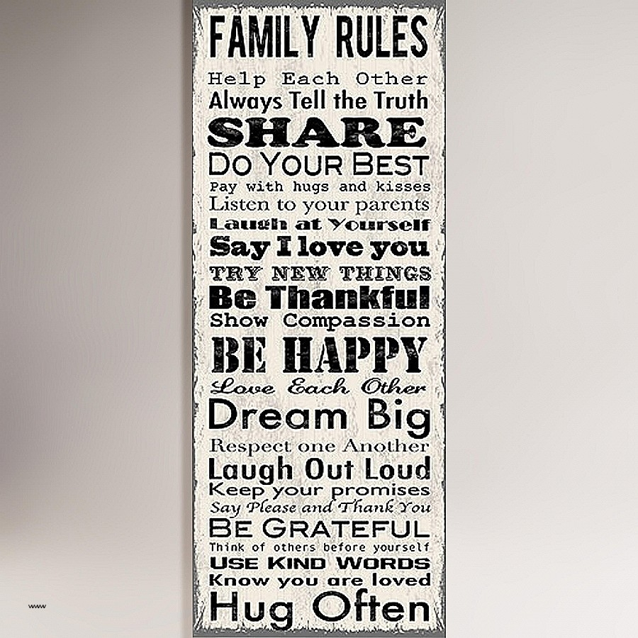 Our Family Rules Wall Art Luxury Family Rules Canvas Wall Art Wall With Regard To Most Popular Canvas Wall Art Family Rules (View 10 of 15)