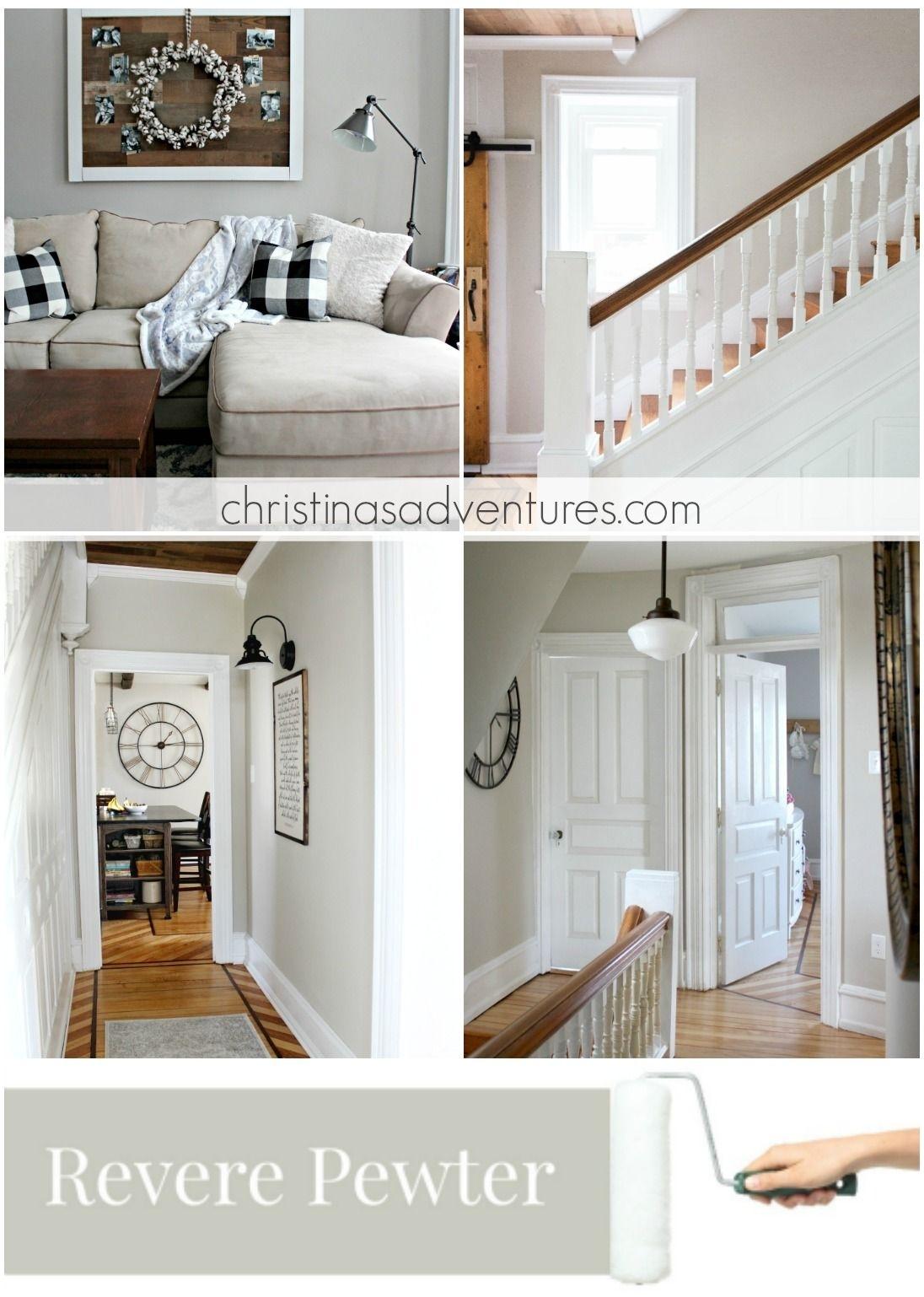 Our House: Modern Farmhouse Paint Colors | Farmhouse Paint Colors regarding Recent Wall Accents For Revere Pewter