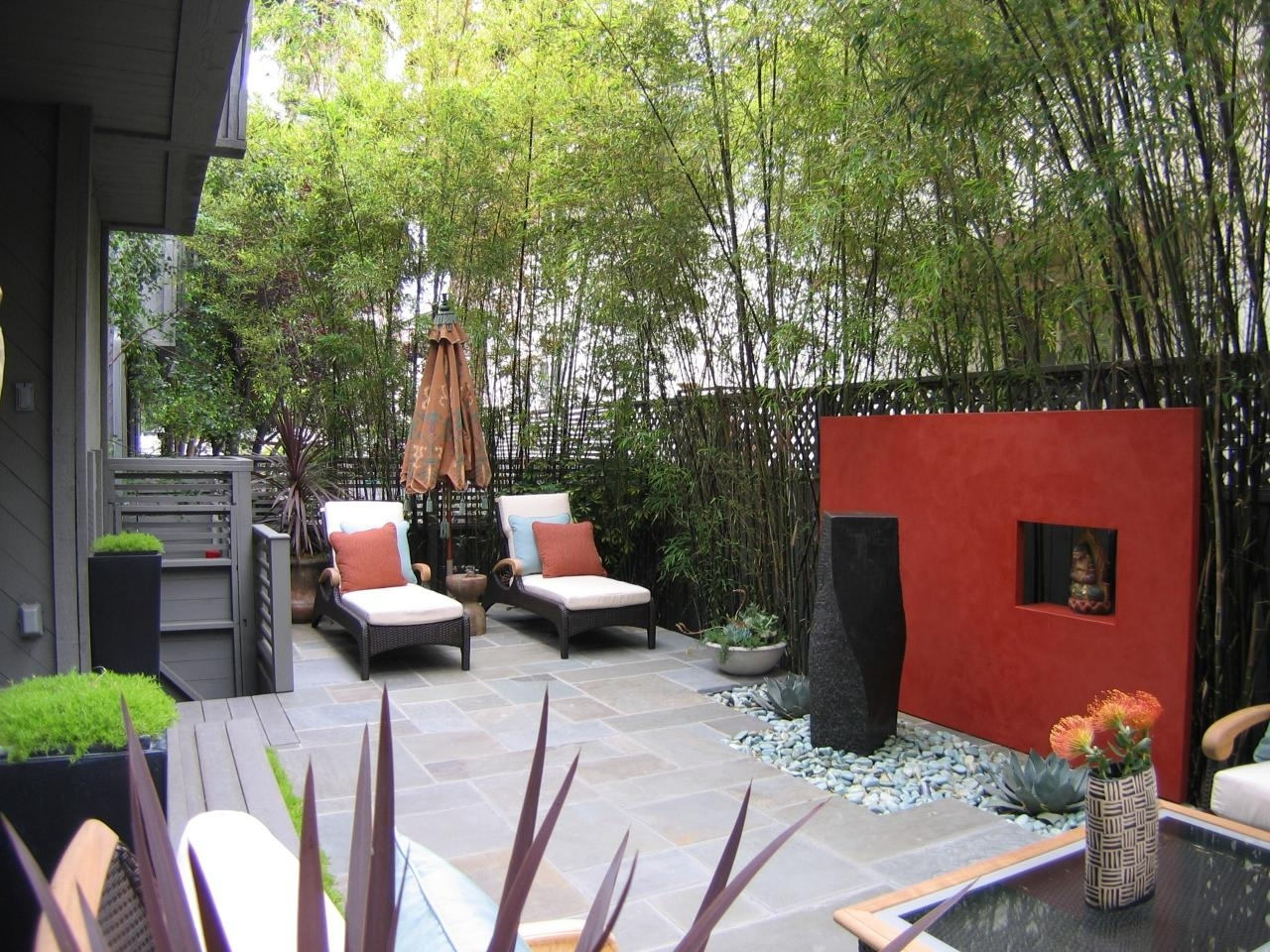 Outside Wall Ideas – Sustainablepals For Most Current Garden Wall Accents (View 14 of 15)