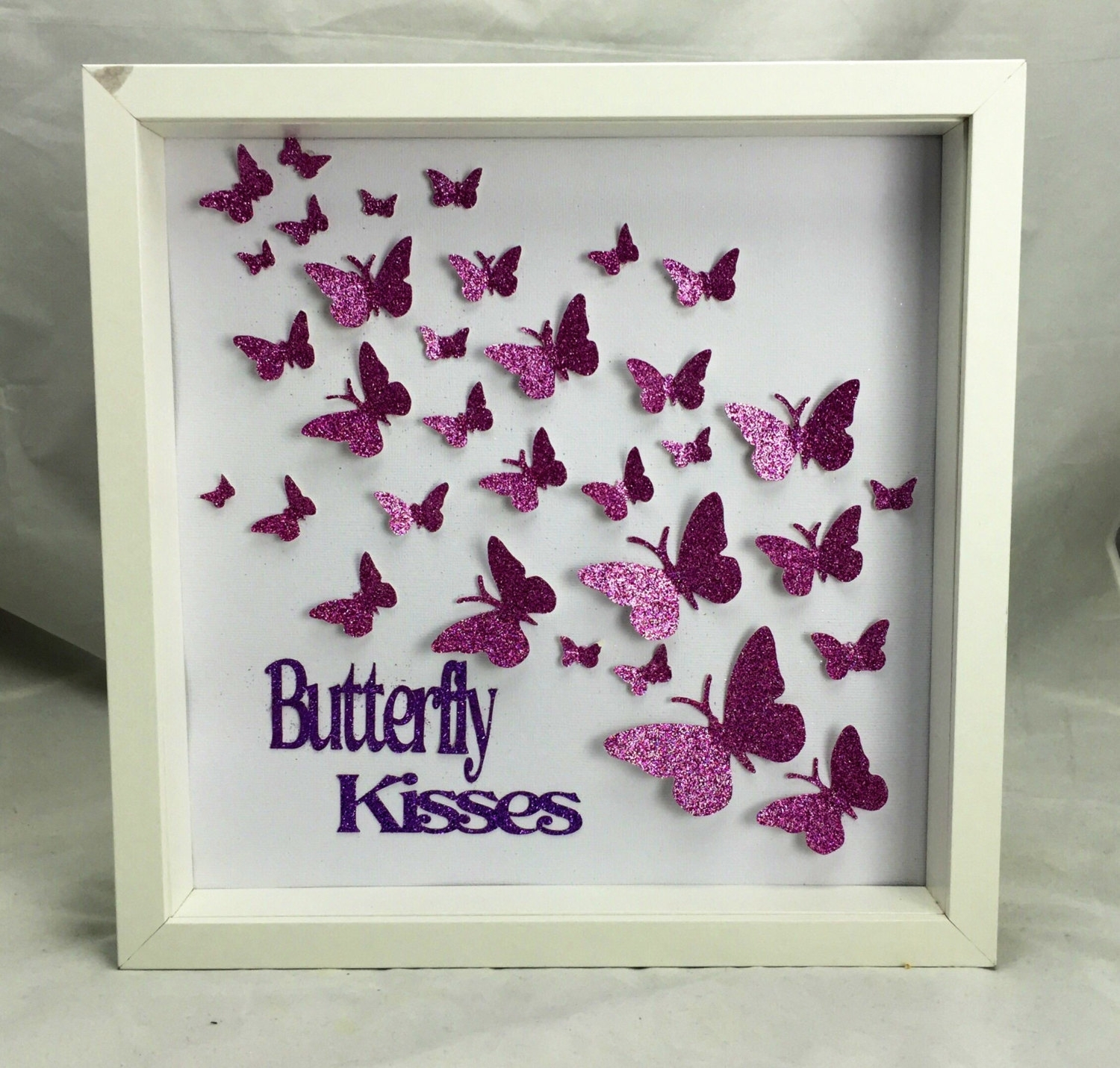 Paper Butterfly , 3d Butterfly Wall Art, Butterfly Art , Butterfly With Regard To Most Recently Released Butterflies Canvas Wall Art (Gallery 14 of 15)