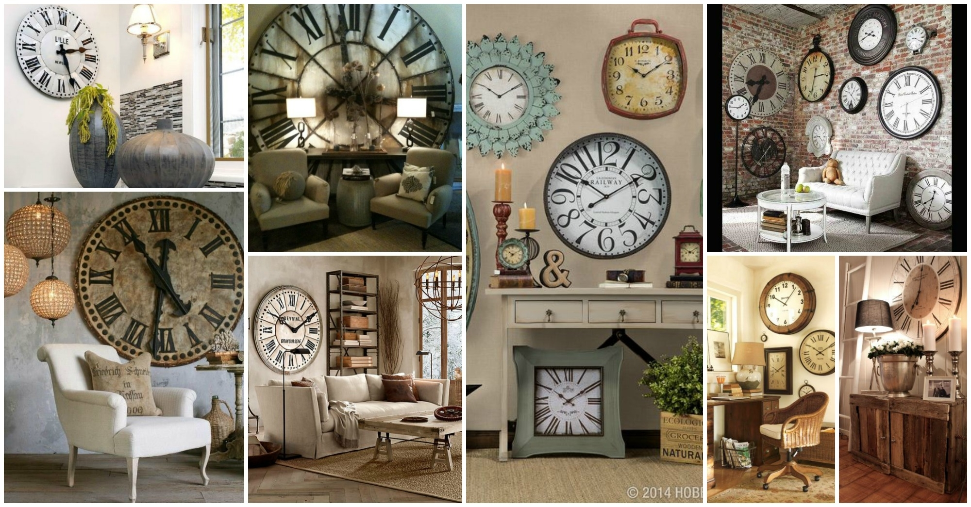 Perfect Ideas Wall Clock Decor Best 25 On Pinterest Big Clocks Pertaining To Best And Newest Clock Wall Accents (View 13 of 15)