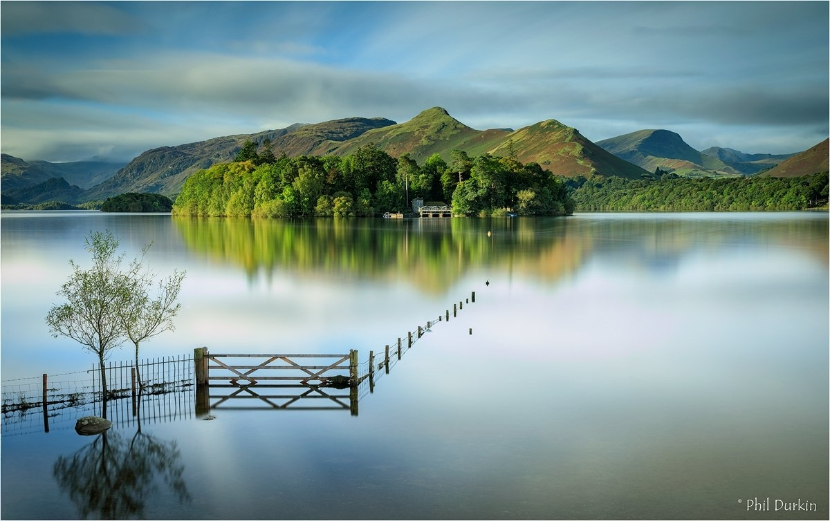 "Phil Durkin On Twitter: ""crow Park – Lake District Top Wall Art In Latest Lake District Canvas Wall Art (View 15 of 15)"