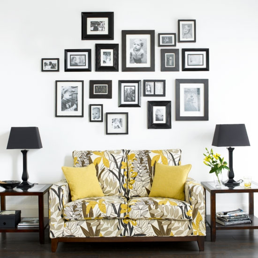 Photo Frame For Wall Decoration Empty Frames Frames And Wall With Regard To Most Up To Date Frames Wall Accents (View 7 of 15)