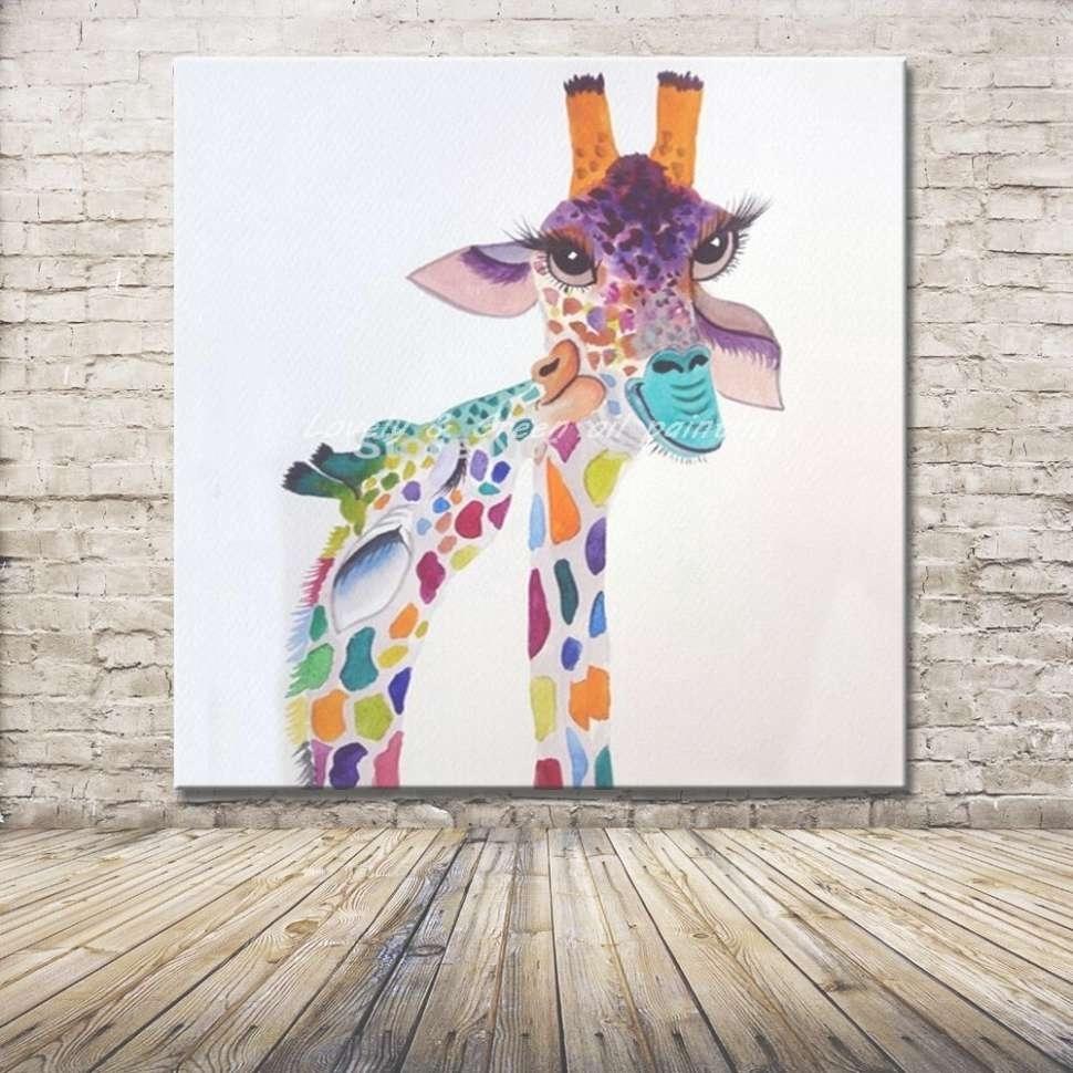 Photo Gallery Of Giraffe Canvas Wall Art (Viewing 11 Of 45 Photos) Regarding Latest Giraffe Canvas Wall Art (View 13 of 15)