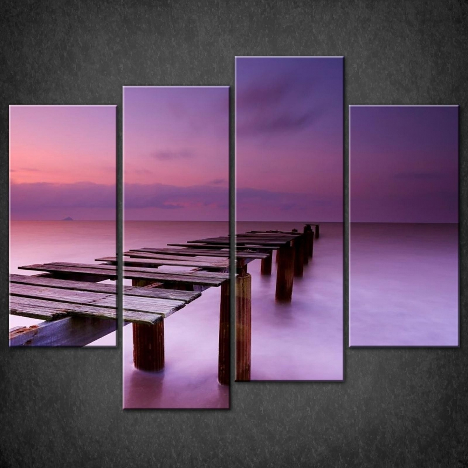 Photo Gallery Of Purple Wall Art Canvas (Viewing 2 Of 10 Photos) intended for Best and Newest Canvas Wall Art In Purple
