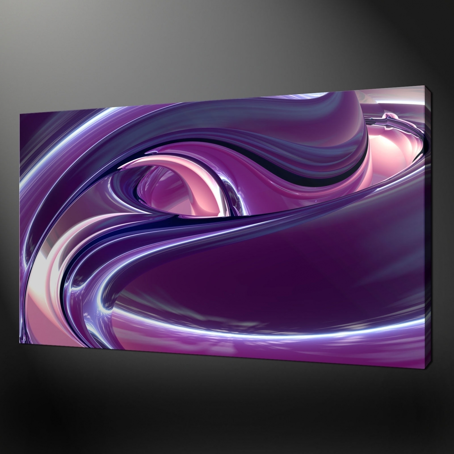 Photo Gallery Of Purple Wall Art Canvas (viewing 5 Of 10 Photos) Regarding Most Current Canvas Wall Art In Purple (Gallery 14 of 15)