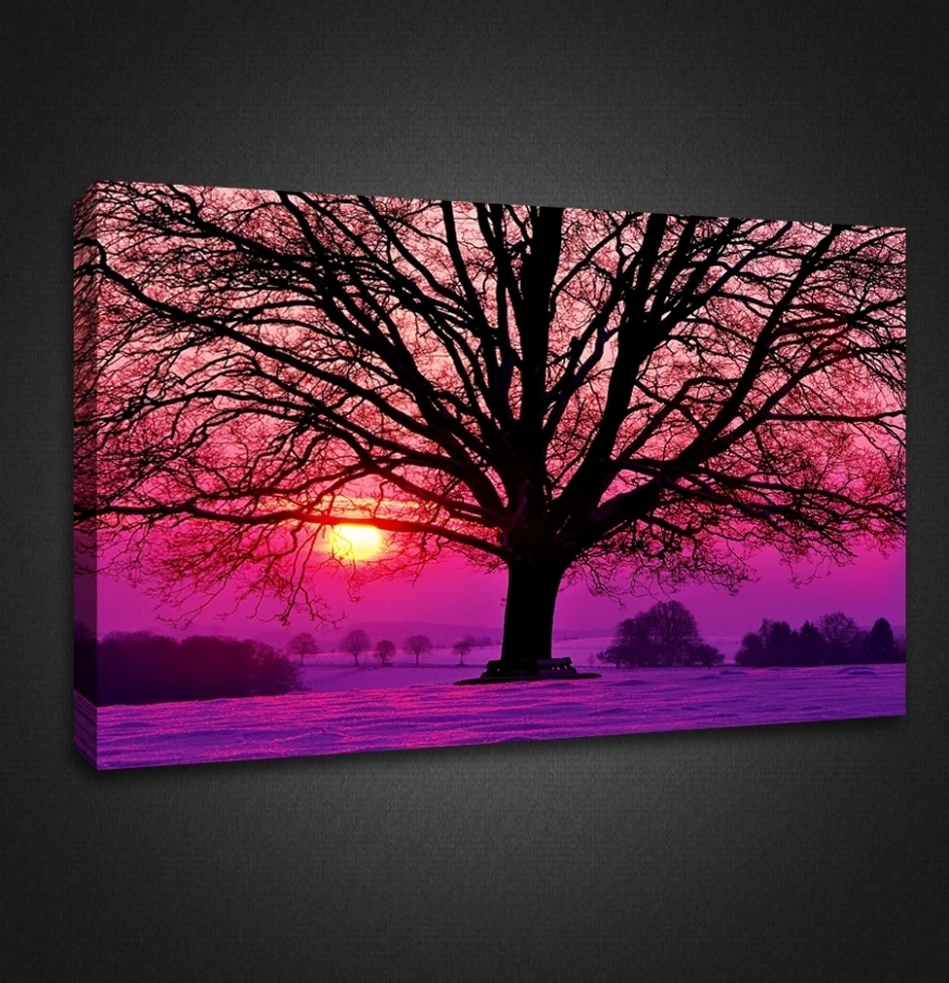 Photo Gallery Of Purple Wall Art Canvas (viewing 6 Of 10 Photos) Throughout Most Recent Canvas Wall Art In Purple (Gallery 6 of 15)