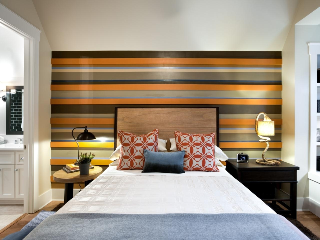 Photo Page | Hgtv Inside Newest Stripe Wall Accents (View 11 of 15)