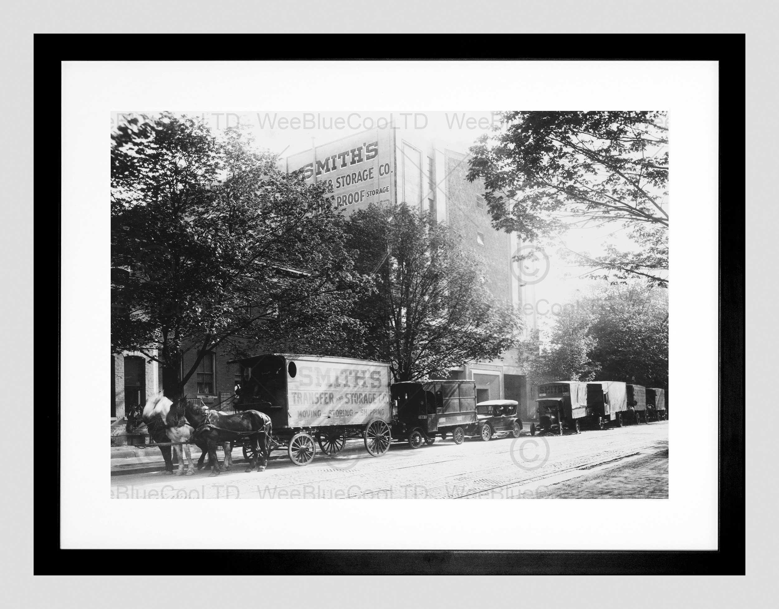 Photo Smith Transfer Storage Washington Dc Trade Horse Framed Art With Regard To Most Popular Washington Dc Framed Art Prints (View 2 of 15)