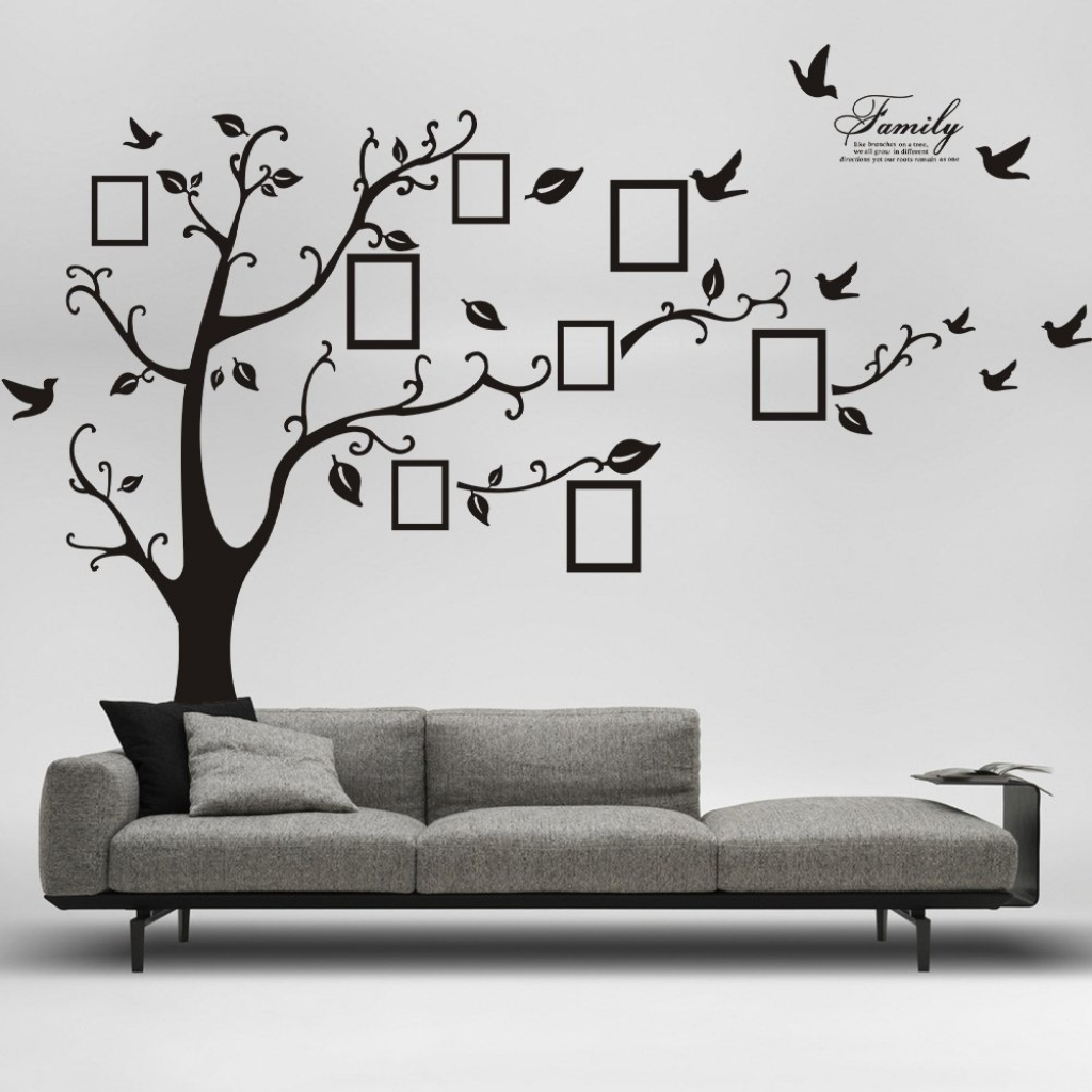 Picture Removable Wall Decor Decal Sticker Only 859 Throughout Regarding Most Recent Amazon Wall Accents (View 14 of 15)