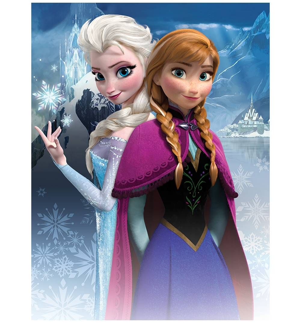 Pictures Of Elsa To Print | Disney Frozen Anna And Elsa Canvas Regarding Newest Elsa Canvas Wall Art (View 14 of 15)
