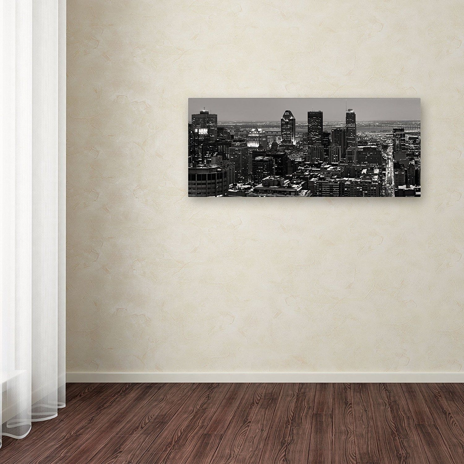 Pierre Leclerc 'montreal City' Canvas Wall Art 10 X 19 | Ebay With 2018 Montreal Canvas Wall Art (View 12 of 15)