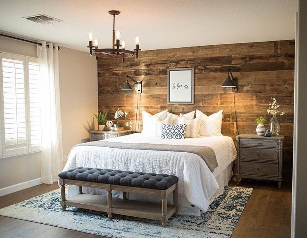Pinamy Harbaugh On Bedroom Ideas | Pinterest | Walls, Bedrooms intended for Most Up-to-Date Earth Tones Wall Accents