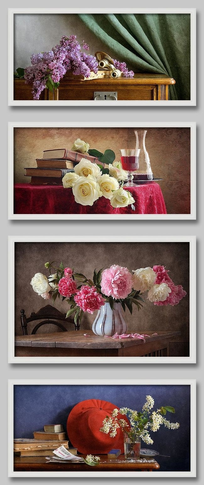 Pinniko Photo Still Life On Wall Art Decor With Frames And Within Most Current Flowers Framed Art Prints (Gallery 9 of 15)