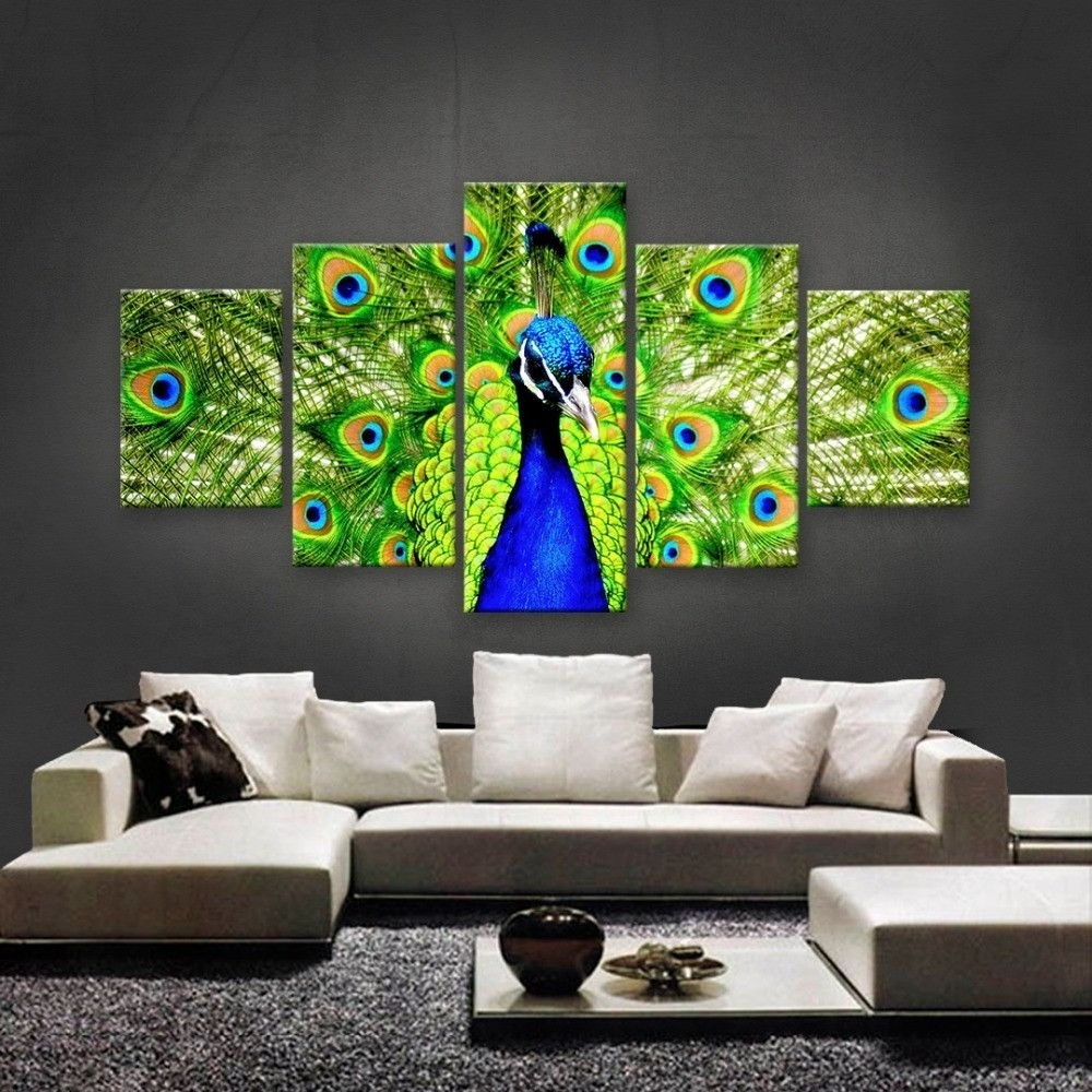 Pinseshni On Decor | Pinterest | Green Peacock And Peacocks Regarding Current Ethnic Canvas Wall Art (View 8 of 15)