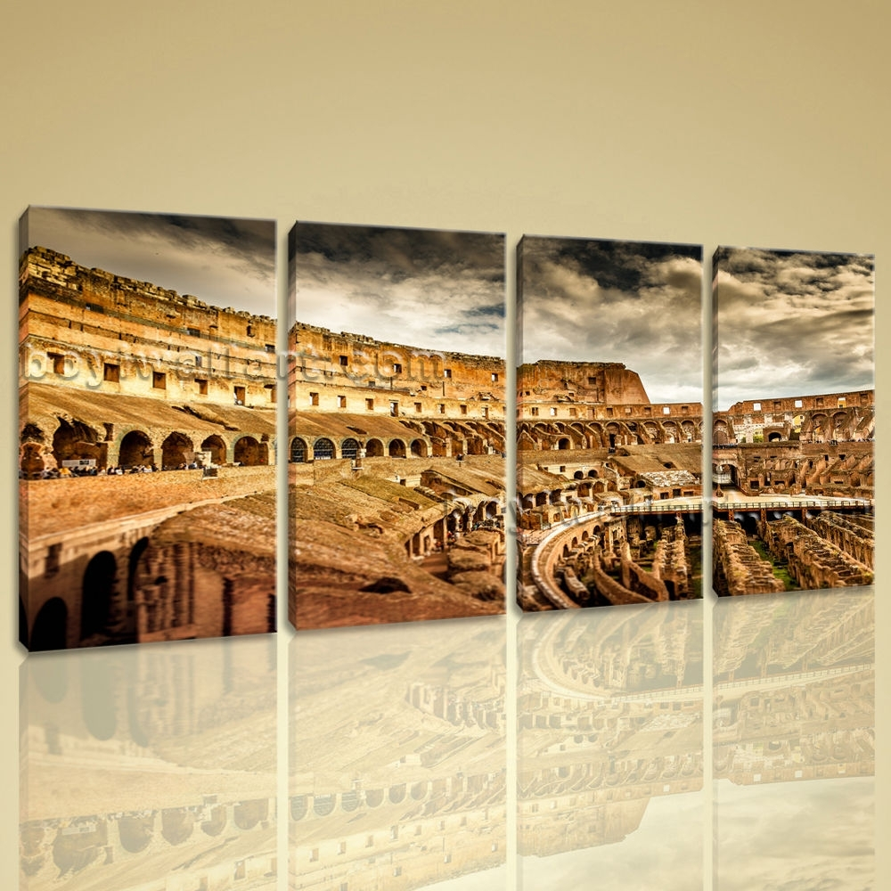 Popular Canvas Wall Rome Buy Cheap Canvas Wall Rome Lots From Inside Current Canvas Wall Art Of Rome (View 2 of 15)