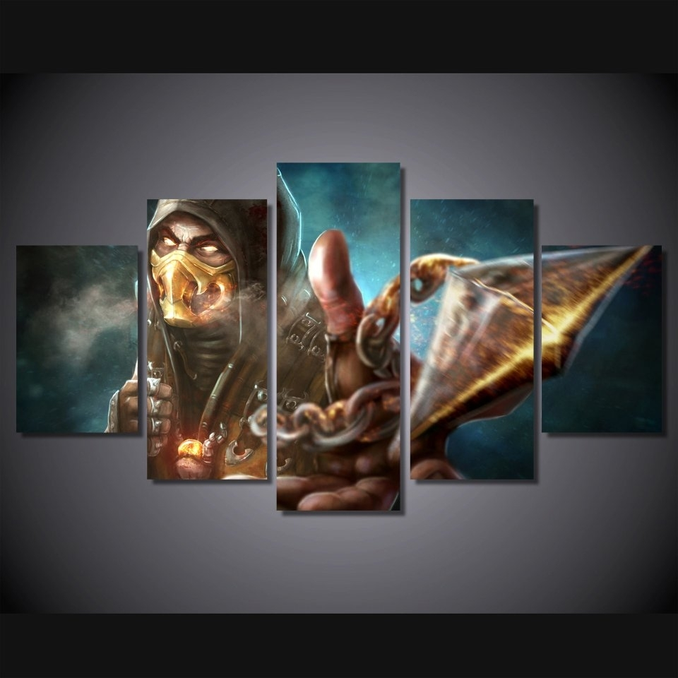 Popular Wall Painting Gaming Buy Cheap Wall Painting Gaming Lots Intended For Most Popular Gaming Canvas Wall Art (View 10 of 15)