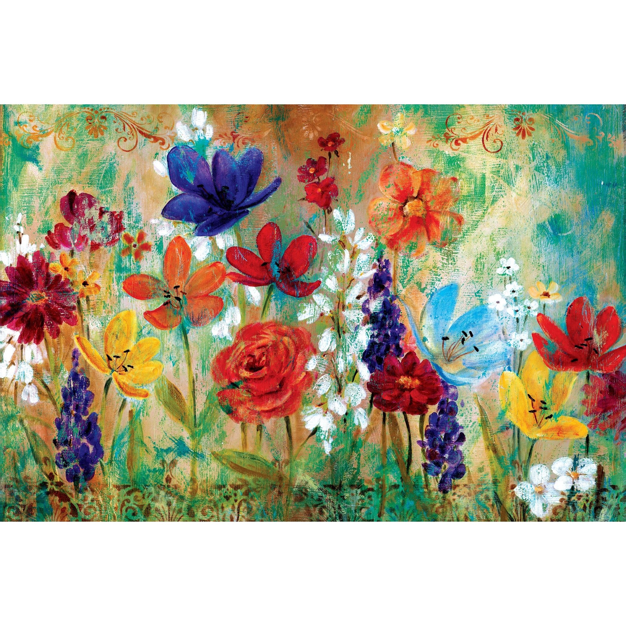 Portfolio Canvas Decor Wildflower Fresco Ie (View 12 of 15)