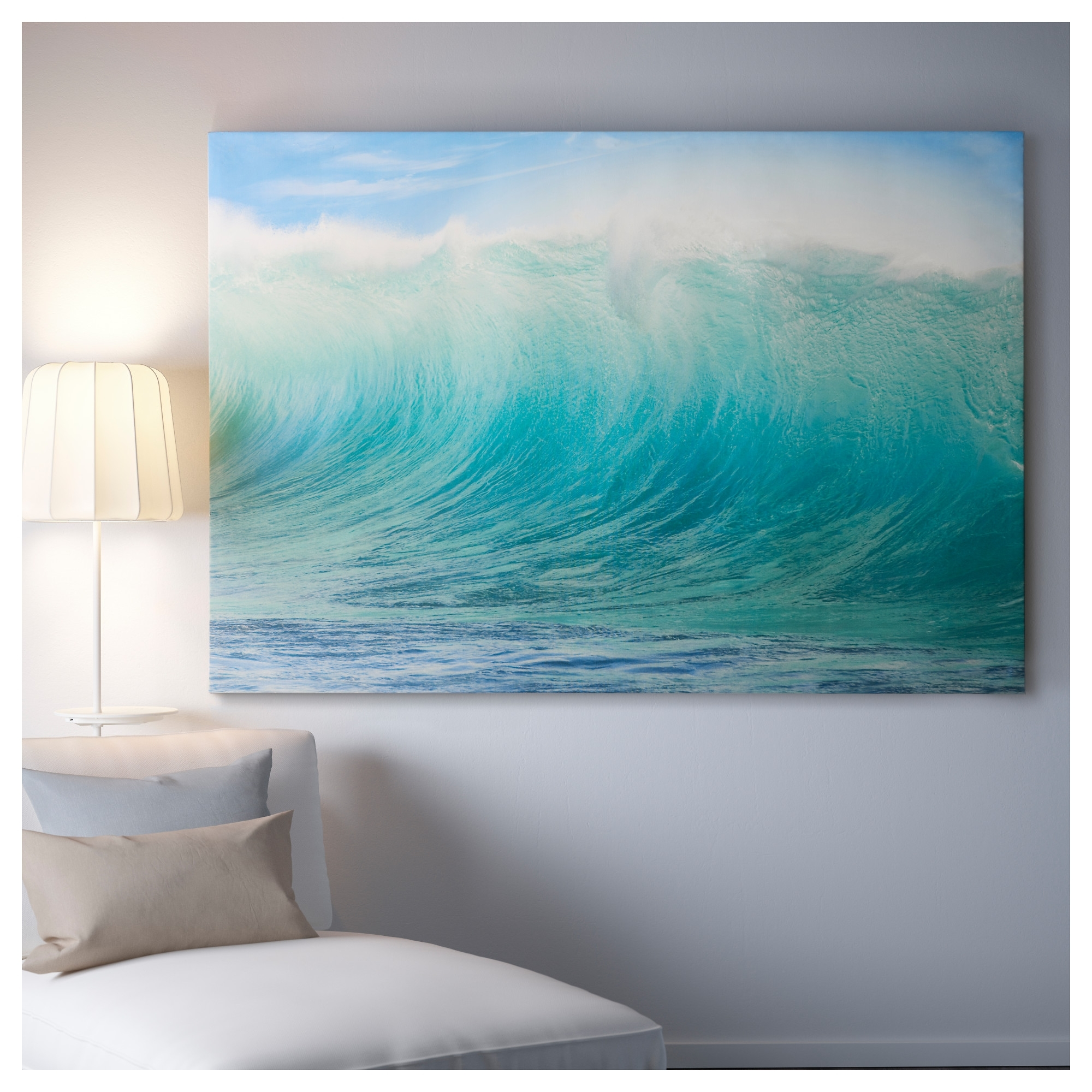 Premiär Picture - Ikea | Kash Crib | Pinterest | Sofa Bed Mattress throughout Current Ocean Canvas Wall Art