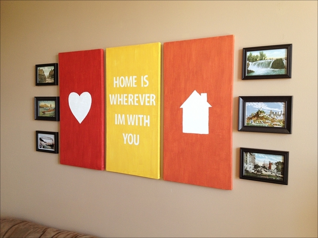 Pretty Best Wall Art Images – The Wall Art Decorations Regarding Most Recently Released Kidsline Canvas Wall Art (View 15 of 15)