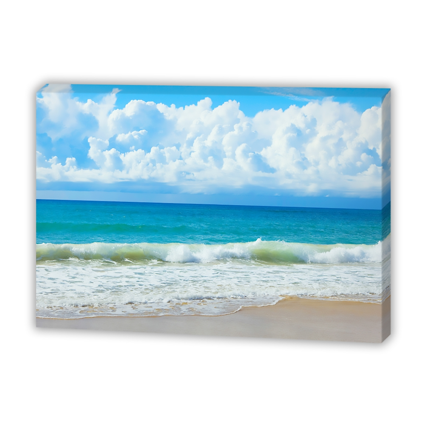 Queensland Beach – Canvas Print – Wall Art – Australia In Latest Queensland Canvas Wall Art (View 10 of 15)