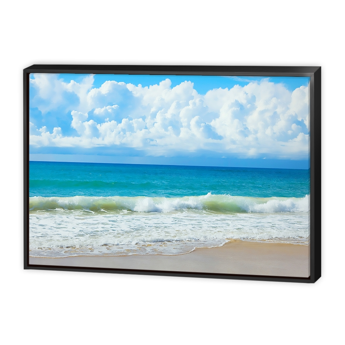 Queensland Beach – Canvas Print – Wall Art – Australia Inside Most Popular Queensland Canvas Wall Art (View 11 of 15)